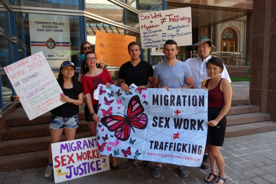 """Documnettation from """"Road to Migrant Sex Workers Justice"""""""
